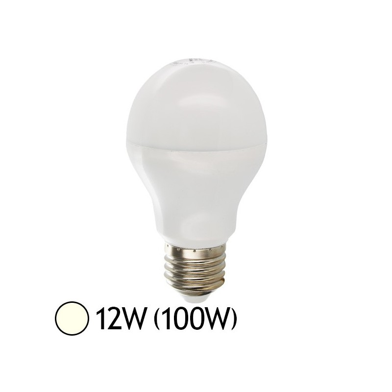 ampoule led 12w 100w e27 bulb blanc jour 4000 k. Black Bedroom Furniture Sets. Home Design Ideas
