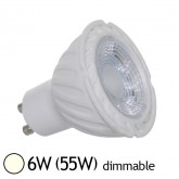 Spot Led 6W (55W) GU10 Dimmable Angle 38° Blanc jour 4000°K