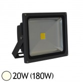 Projecteur Led 20W (180W) IP65 Blanc jour 4000°K