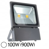 Projecteur Led 100W (900W) ext IP65 Blanc jour