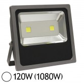 Projecteur Led 120W (1080W) IP65 Slim (gris) Blanc jour