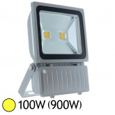 Projecteur Led 100W (900W) ext IP65 Blanc chaud