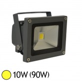 Projecteur Led 10W (90W) ext IP65 Blanc chaud