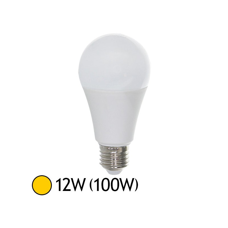 ampoule led 12w 100w e27 bulb blanc chaud 2700 k led et fluo. Black Bedroom Furniture Sets. Home Design Ideas