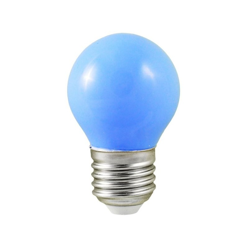 ampoule led bleue 1w e27 10w bulb led et fluo. Black Bedroom Furniture Sets. Home Design Ideas