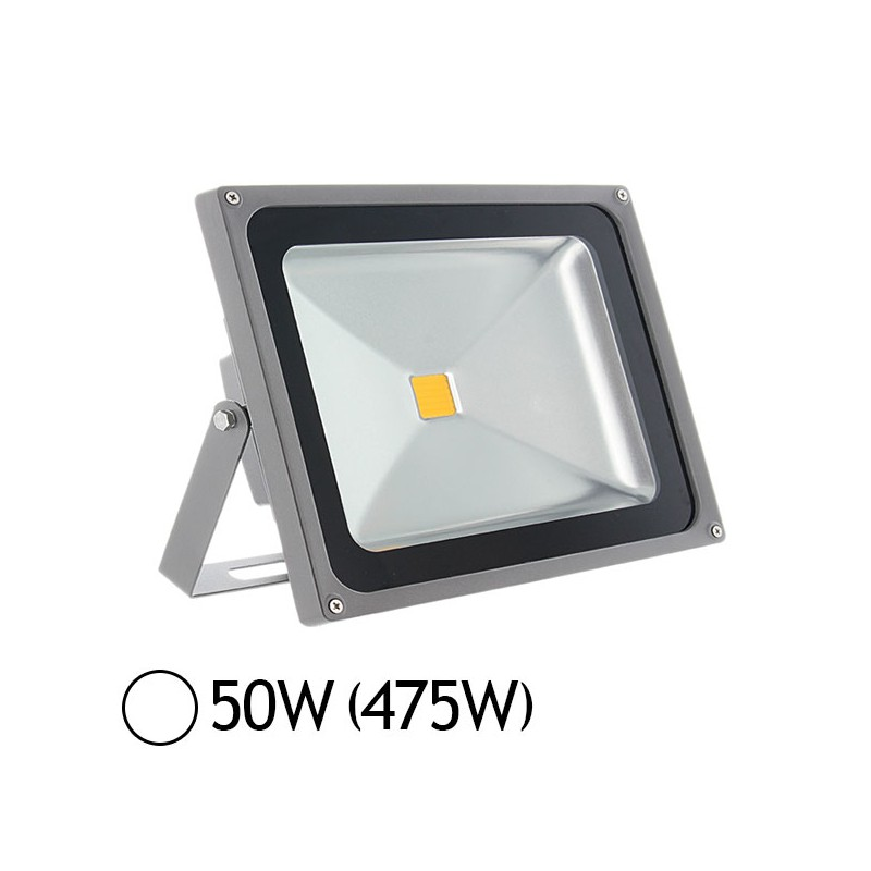 Projecteur led 50w 450w ext rieur ip65 blanc jour 6000 k for Projecteur led exterieur 50w