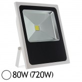 Projecteur Led 80W (720W) IP65 Slim (blanc) Blanc jour
