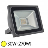 Projecteur ext LED SMD 30W (270W) IP65 Anthracite Blanc chaud 3000°K