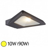 Applique murale LED COB 10W (90W) IP54 Blanc chaud Forme à plat