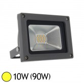 Projecteur Led 10W (90W) IP65 Blanc chaud