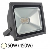 Projecteur ext LED SMD 50W (450W) IP65 Anthracite Blanc jour 4000°K