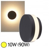 Applique murale LED COB 10W(90W) IP54 Blanc chaud 3000°K Forme ronde
