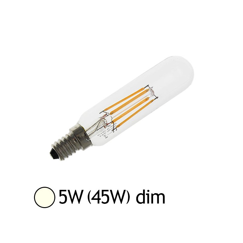 ampoule led 5w 45w e14 filament cob sp cial frigo hotte blanc jour 4000 k led et fluo. Black Bedroom Furniture Sets. Home Design Ideas