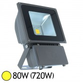 Projecteur Led 80W (720W) ext IP65 Blanc chaud 3000°K