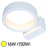 Applique murale LED COB 16W (150W) IP65 Blanc chaud 3000°K