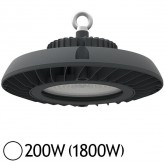 Lampe mine LED UFO 200W (1800W) IP65 Blanc jour 6000°K