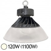 Lampe mine LED 120W (1100W) IP65 Blanc jour 4000°K