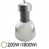 Lampe mine LED 200W (1800W) IP44 Blanc jour 4000°K