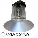 Lampe mine LED 300W (2700W) IP65 Blanc jour 6000°K Driver Mean Well