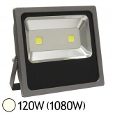 Projecteur Ext COB LED 120W (1080W) IP65 Slim (Gris) Blanc jour 4000°K