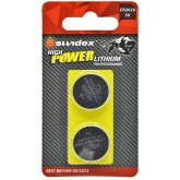 Piles (x2) CR2025 - 3V - Lithium Pro High Power Sundex