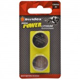 Piles (x2) CR2032 - 3V - Lithium Pro High Power Sundex