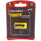 Pile A23 - 12V - Alcaline Pro High Power Sundex