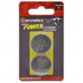 Piles (x2) CR2450 - 3V - Lithium Pro High Power Sundex