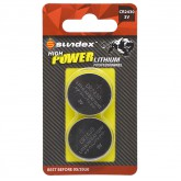 Piles (x2) CR2430 - 3V - Lithium Pro High Power Sundex