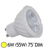 Spot Led 6W (55W) dimmable GU10 Blanc chaud