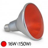 Ampoule LED 16W (150W) E27 PAR38 IP65 Couleur Rouge