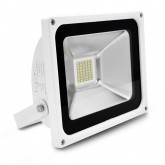 Projecteur Led 30W (270W) IP65 Blanc jour 6000°K Finition blanc