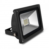 Projecteur Led Ext 20W (180W) IP65 Blanc jour 6000°K Gris anthracite