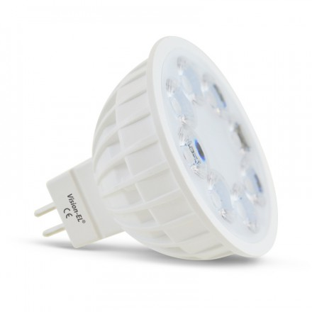 Spot Led 4W (35W) GU5.3 12VDC Dimmable RGB couleur + Blanc 2700° à 6000°K