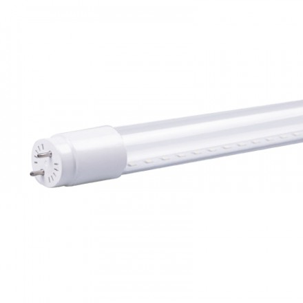 Tube LED 25W (220W) T8 G13 1500 mm Blanc neutre 4000°K Phase-neutre 1 côté