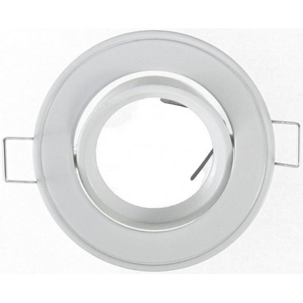 Support Spot LED Rond D86 Blanc