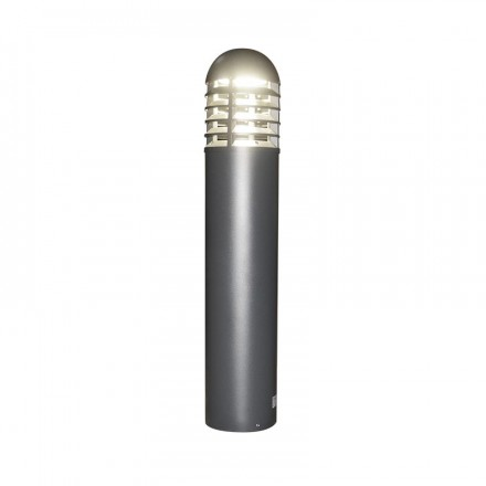 Potelet rond LED 35W (185W) IP65 Blanc jour 4000°K Alu anthracite