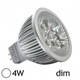 Spot Led 4W (40W) GU5.3 Dimmable 12V Blanc jour