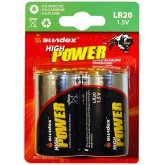 Piles (x2) LR20 1.5V Super Alcaline Pro High Power