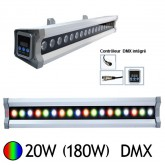 Wall Washer Led 20W (180W) IP 67 DMX RGB