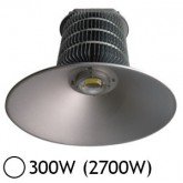 Lampe mine LED 300W (2700W) IP54 Blanc jour 6000°K
