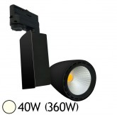 Spot Led 40W (360W) orientable Blanc neutre 4000°K pour rail